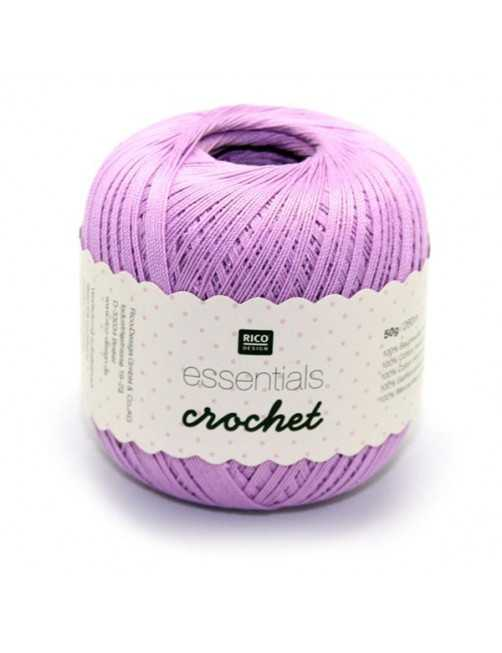 Rico Design Essentials crochet lilac 006