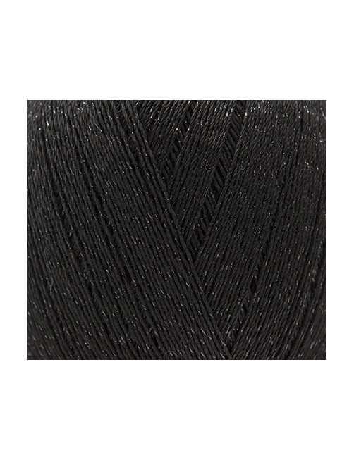Rico Design Essentials crochet glitz black 008