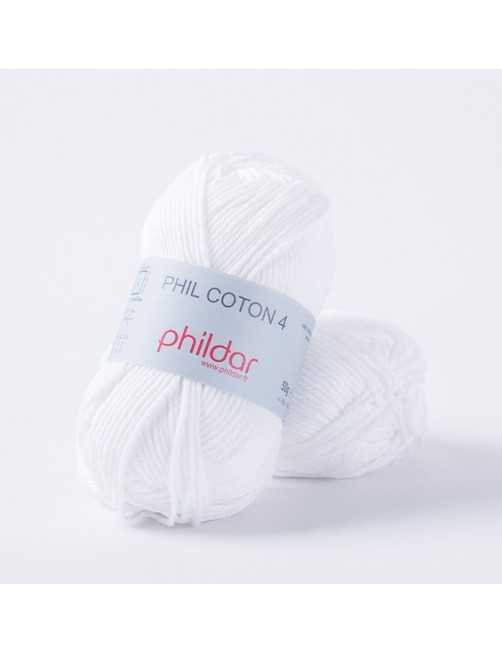 Phildar Phil Coton 4 blanc