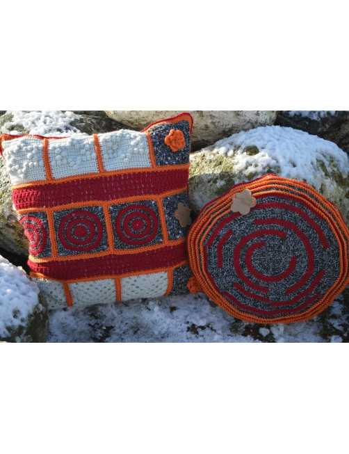 "Scheepjes Cushion ""sunset"""