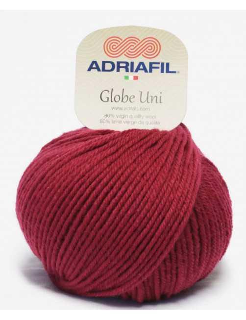 Adriafil Globe Uni bordeaux 18
