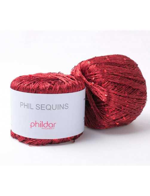 Phildar Phil Sequins Bordeaux