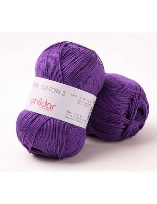 Phildar Phil Coton 2 violet