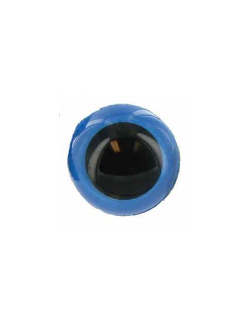 Animal eye 20 mm blue
