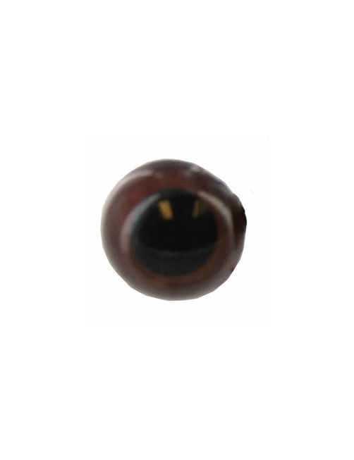 Animal eye 20 mm brown