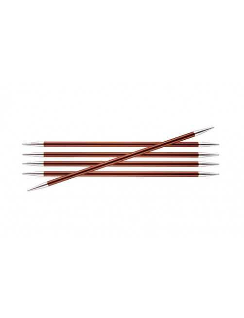 Knitpro Zing double pointed needles 5,5 mm