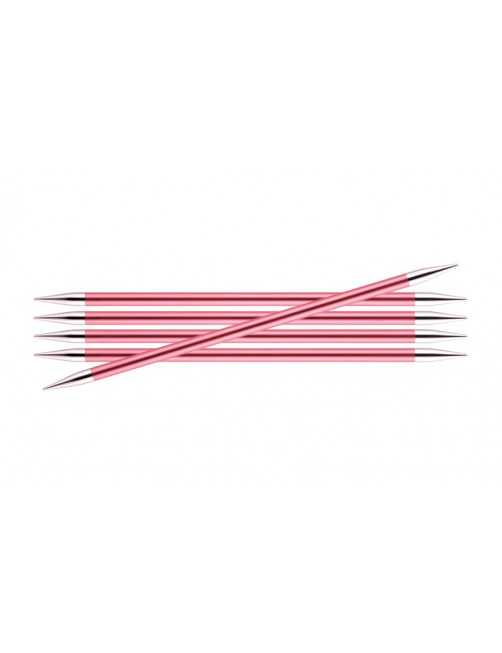 Knitpro Zing double pointed needles 6,5 mm