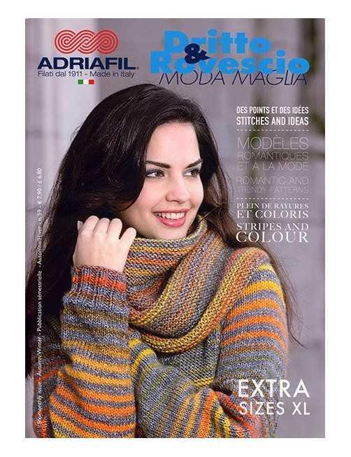 Adriafil patroonboek Adriafil  Dritto & Rovescio n. 61