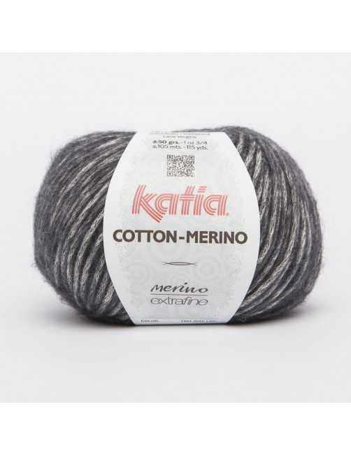 Katia Cotton merino dark grey
