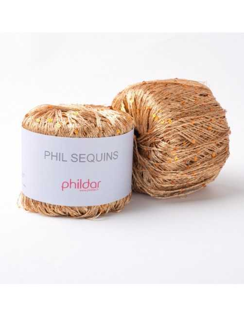Phildar Phil Sequins Cuivre