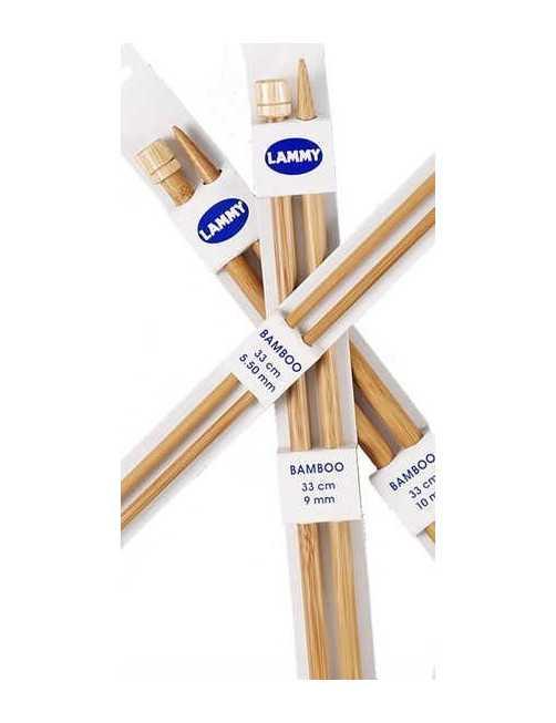 Bamboo knitting needle 5 mm