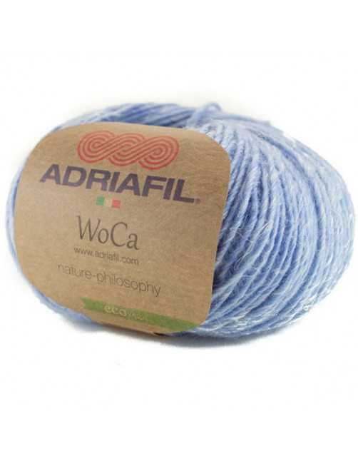 Adriafil Woca sky blue 91