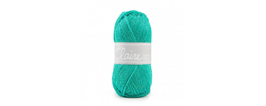 Crochet yarn  byClaire nr 3 Sparkle