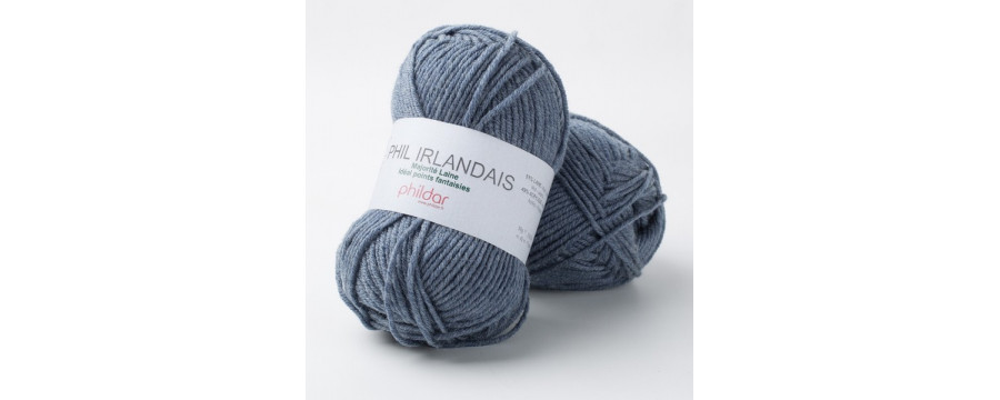 Knitting wool Phildar Phil Irlandais