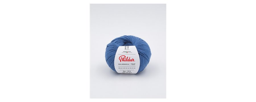 Knitting yarn Phildar Phil Merinos 3.5