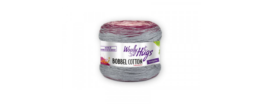Knitting yarn  Woolly Hugs Bobbel Cotton