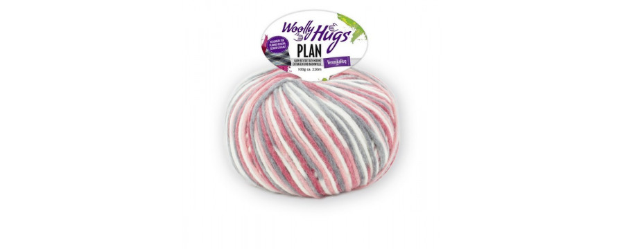 Knitting yarn Woolly Hugs Plan
