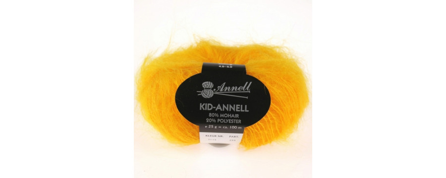 Knitting yarn Kid Annell