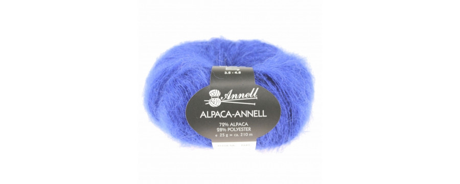 Knitting yarn Alpaca Annell