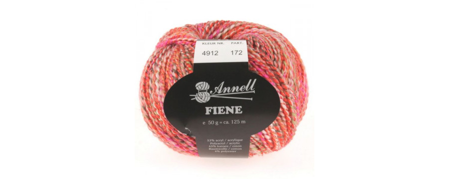 Knitting yarn Annell fiene